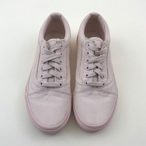 All Pink Old Skool Vans